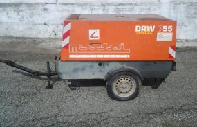 MOTOCOMPRESSORE 5000lt 7bar Mattei mod. DRW755 – Cod. Rif. U309