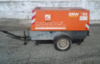 MOTOCOMPRESSORE 5000lt 7bar Mattei mod. DRW755 – Cod. U309