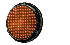 Ottica led. diam. 200 colore rosso – cod. 100619