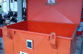Cassone porta attrezzi verniciato Valloggia – capacita' lt 670 – cod. 100332