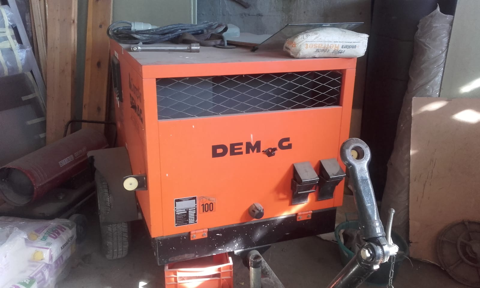 Motocompressore Demag G279