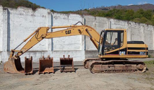 U475 – Escavatore Usato CAT 317