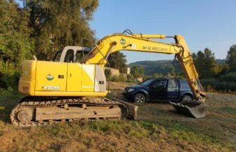 U480 – Escavatore usato New Holland mod. E145