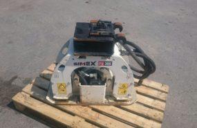 UEXPC028 – Piastra vibrante Simex PV300 per escavatore Kobelco SK17SR-3